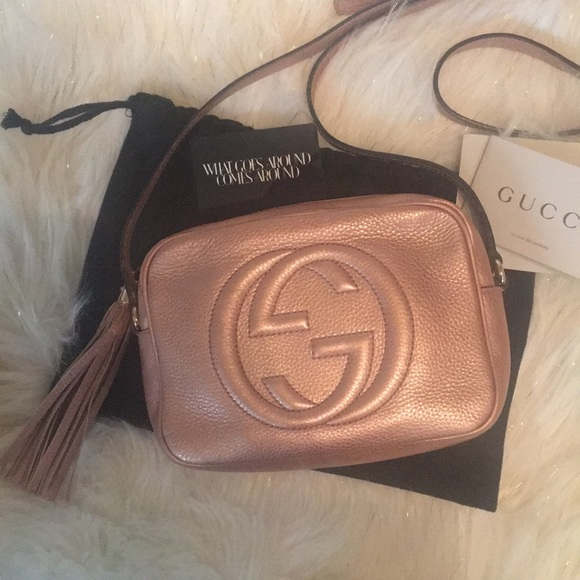 0f30808c3f27 Gucci Bags | Soho Disco Rose Goldjapan Exclusive | Poshmark